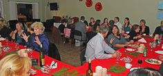 Members and Guests alike enjoy our holiday dinner in celebration of our Wibbey Awards!