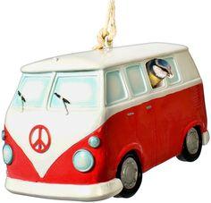 VW Bus  bird house