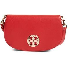 Women's Tory Burch Jamie Convertible Leather Clutch