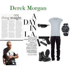 Derek Morgan, created by eathompson on Polyvore