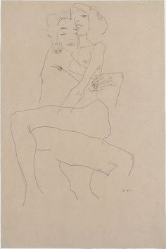 Couple Embracing Egon Schiele  1911  Metropolitan Museum of Art