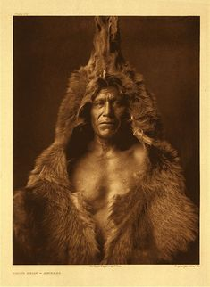 """Bears Belly"" By Edward S. Curtis"