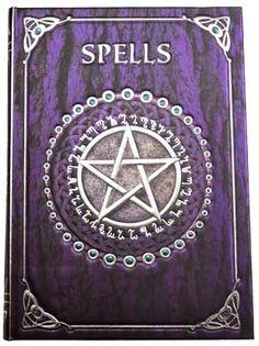 Spell Book Purple journal