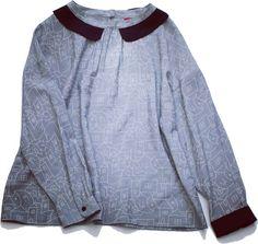#poudoudou#pdd16aw #blouse