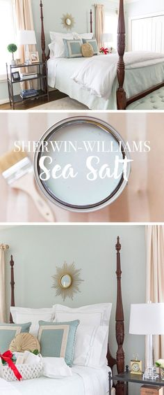 Sherwin-Williams sea salt https://www.facebook.com/shorthaircutstyles/posts/1761676720789434