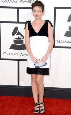 Sarah Hyland in Emilio Pucci from the 2014 Grammys: Red Carpet Arrivals | E! Online