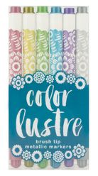 Make amazing metallic and sparkling creations with Color Lustre Metallic Markers.