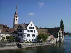 Kloster St Georgen, the former Benedictine monastery in Stein am Rhein