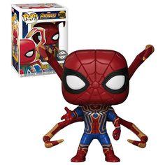 Funko POP! Marvel Avengers: Infinity War #300 Iron Spider (Eight Legs) - New, Mint Condition. #Funko #FunkoPop #Marvel #Avengers #InfinityWar #Collectibles