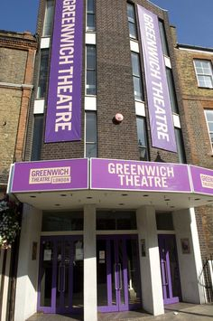 The Local Greenwich Theatre - we went to lots of productions here, you were a 'friend' Greenwich London, East London, Naval History, London Theatre, Days Out, Britain, Places To Visit, England, Theatres