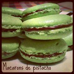 Sivila Happy Bakery : ♥ Macarons de pistacho