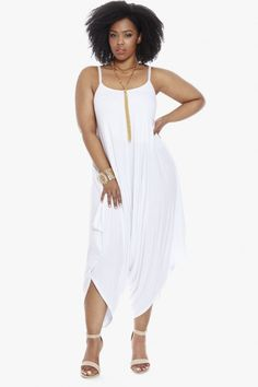 Plus Size Sequoia Harem Jumpsuit | Fashion To Figure