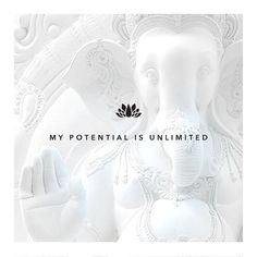 """SATYA JEWELRY   Morning Mantra: """"My potential is unlimited.""""..."""