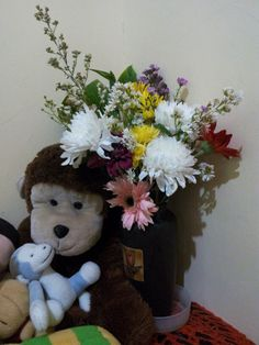 See photos, tips, similar places specials, and more at Cikarang See Photo, Four Square, Monkey, Teddy Bear, Spaces, Reading, Books, Jumpsuit, Libros