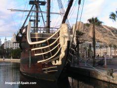 Spanish galleon in Alicante