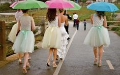 tutu bridesmaid skirt