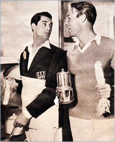 Homo History: Cary Grant and Randolph Scott: A Gay Hollywood Romance. Hollywood Men, Old Hollywood Stars, Vintage Hollywood, Classic Hollywood, Hollywood Glamour, Cary Grant Randolph Scott, Gary Grant, Le Bataclan, Lgbt History