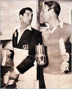 Cary Grant and Randolph Scott.