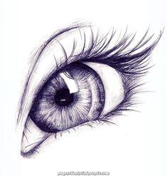Real Colored Eye Drawings of Lady Drawn with Pencil Drawing .-Karakalem ile Çizilmiş Bayan Gerçek Renkli Göz Çizimleri ve Teknikleri -… Real Colored Eye Drawings and Techniques of Lady Drawn with Pencil Drawing … the the - Pencil Art Drawings, Cool Art Drawings, Realistic Drawings, Art Drawings Sketches, Art Sketches, Colorful Drawings, Eye Pencil Drawing, Pencil Sketching, Sketches Of Eyes
