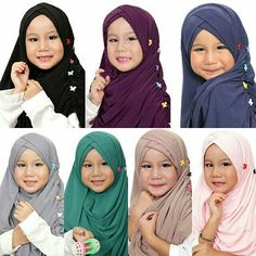 ♡PO Kidz Slip In Ruffle Double Cross♡  Material Korean Jersey Avail in 2 sizes : S : Face circumference 40 cm, fit 4-7 yrs M: Face circumference 43 cm, fit to 8-10 yrs  Pls WA +65-83362104 to order, tq. ♥  #shawl #tudung #hijab #muslimah #singaporehijab #stylezzhijabster #inner #ninja #dress #instant #instock