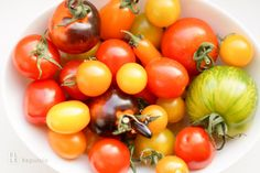 Gemischte Alte Tomatensorten (Heirloom Tomaten)