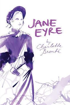 Jane Eyre illustrated book cover by Sarah Singh