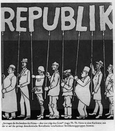Margini in/versi: Weimar – La tentazione delle similitudini storiche...