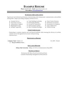 Sample Resume For Customer Service Representative Customer Service Sales Cv Examples  Httpwww.resumecareer .