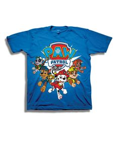 Look what I found on #zulily! Blue PAW Patrol Tee - Toddler & Boys by PAW Patrol #zulilyfinds