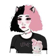 Anime Girlxgirl, Jojo Anime, Boy And Girl Drawing, Anime Girl Pink, Alternative Art, Stoner Girl, Aesthetic Collage, Cute Icons, Art Sketchbook