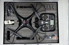 Creation® SYMA X5SW Wifi FPV tiempo real Quadcopter Drone con estuche - http://www.midronepro.com/producto/creation-syma-x5sw-wifi-fpv-tiempo-real-quadcopter-drone-con-estuche/