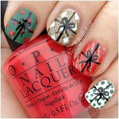 christmas by newlypolished #nail #nails #nailart