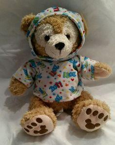 "Disney Parks New Year 2011 12"" Duffy Bear Limited Edition Hidden Mickey Plush…"