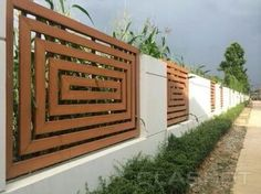 Image result for concrete fence pillars