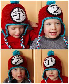Free Dr. Seuss Inspired Crochet Hat Pattern from Micah York via Ravelry PDF