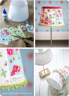 reciclar una lámpara vieja