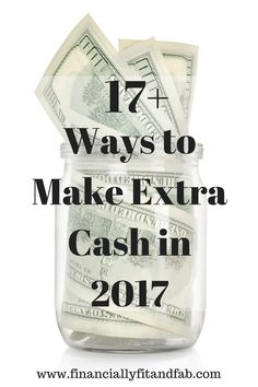 17+ Ways to Make Extra Cash in 2017 | Make Money | Make Money at Home | Side Hustle