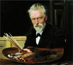 Self portrait - Vladimir Makovsky