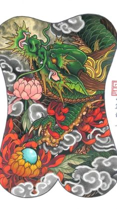 Tiger Dragon, Back Piece Tattoo, Japanese Tattoo Designs, Dragon Tattoo Designs, Japanese Dragon, Back Pieces, Japanese Artists, Japan Fashion, I Tattoo