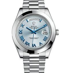 Rolex Watches Collection For Women : Rolex Day-Date II 41 President Platinum Watch Ice Blue Dial 218206 Box/Papers >>> You can get more details by clicking on the image. (This is an affiliate link) - Watches Topia - Watches: Best Lists, Swiss Luxury Watches, Swiss Army Watches, Luxury Watches For Men, Rolex Day Date, Rolex Watches For Men, Cool Watches, Wrist Watches, Fancy Watches, Men's Watches