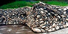 Stone Art Blog: The amazing flowing stonework of Michael Eckerman