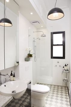 Victorian Terrace Bathroom Renovation by Polina Radchenko, via Behance