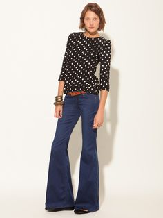 Rich and Skinny bootlegging flare jean
