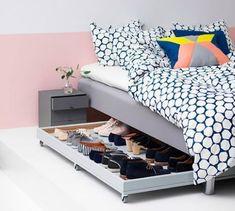 6 maneras geniales de organizar zapatos | Dormitorio - Decora Ilumina #bedroomideas