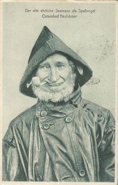 Seemann aus Ostseebad Neuhäuser bei Pillau, Fischhausen, Königsberg, Ostpreusen