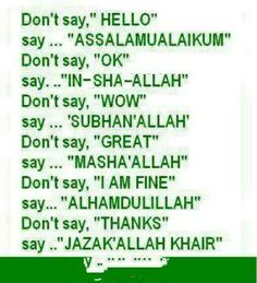 ♥ I LOVE ISLAM ♥, Karachi, Pakistan. I Love Islam page Does not belong to any political or any particular sect or denomination. Islam Hadith, Allah Islam, Islam Quran, Alhamdulillah, Pray Allah, Allah Quotes, Muslim Quotes, Religious Quotes, Muslim Sayings