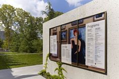 Signage for a new art institution, The Barnes Foundation, in Philadelphia – by Pentagram.