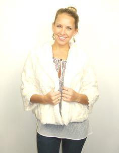 winter white jacket, faux fur coat, faux fur jacket, Tart jacket