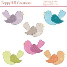 poppy clip art | Stitched | PoppyHill Creations