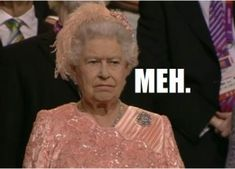 The Queen during the Opening Ceremony. Elizabeth First, Queen Elizabeth, Olympics Opening Ceremony, Queen Meme, Homemade Gifts, Celebrities, Memes, Funny Things, Long Live